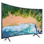 SAMSUNG 65″ UHD 4K SMART CURVE TV